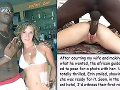 Healthy! interracial wife thumbs join